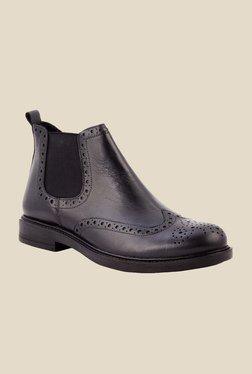 Salt 'n' Pepper Antartic Black Chelsea Boots