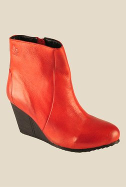 Salt 'n' Pepper Fevi Red Casual Boots