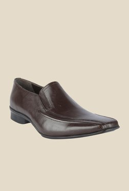 Salt 'n' Pepper Predict Brown Formal Shoes