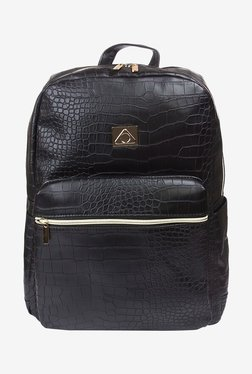 """Stuffcool Perse Fashion Backpack For 14"""" Laptop (Black)"""