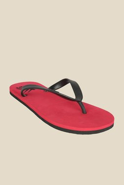 Wega Life Delight Black & Red Flip Flops