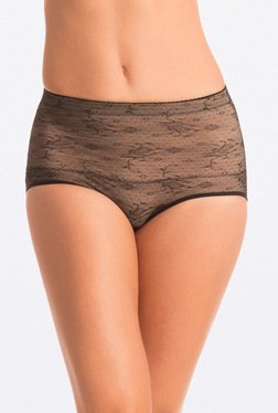 Pretty Secrets Bare Black High Waist Shaping Brief