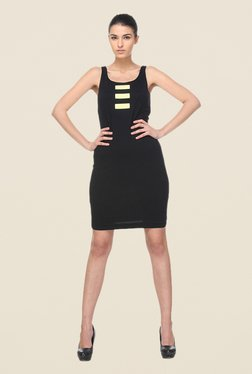 Kaaryah Black Sleeveless Dress