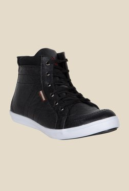 Provogue Black Ankle High Sneakers - Mp000000000355076