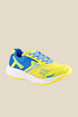 Provogue Yellow & Blue Running Shoes