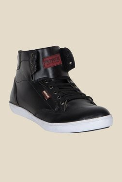 Provogue Black Ankle High Sneakers - Mp000000000355372
