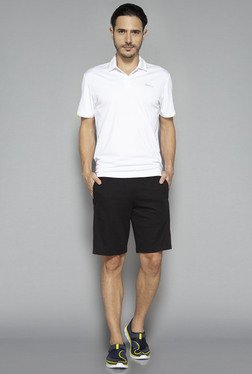 Westsport By Westside White Solid Polo T Shirt