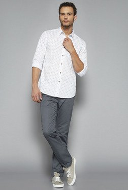 Westsport By Westside White Printed Shirt