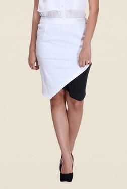 Kaaryah White Pencil Skirt - Mp000000000362027