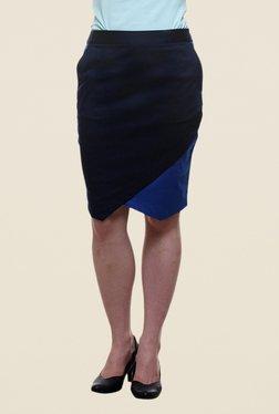 Kaaryah Navy Pencil Skirt