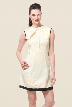 Kaaryah Lemon Sleeveless Dress