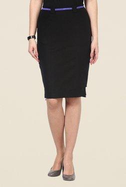 Kaaryah Black Pencil Skirt
