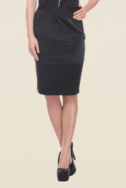 Kaaryah Black Pencil Skirt - Mp000000000363127
