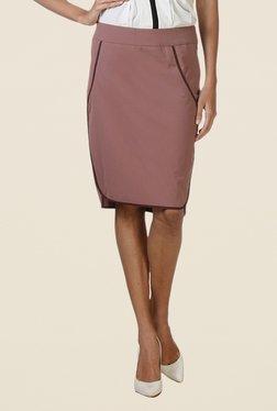 Kaaryah Pink Pencil Skirt