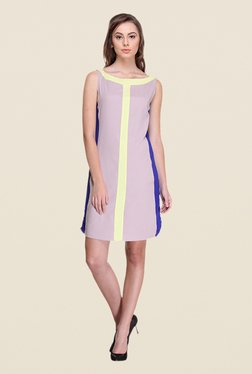 Kaaryah Lavender Sleeveless Dress