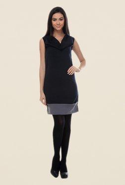 Kaaryah Black Sleeveless Dress