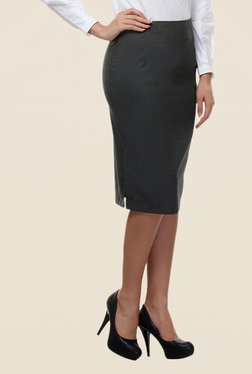 Kaaryah Grey Pencil Skirt