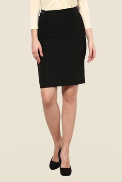 Kaaryah Black Pencil Skirt - Mp000000000364492
