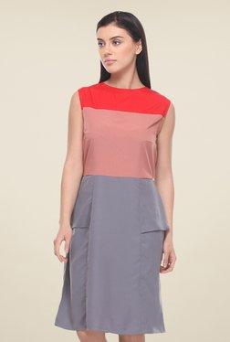 Kaaryah Multicolor Sleeveless Dress