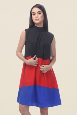 Kaaryah Multicolor Sleeveless Dress