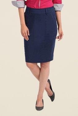 Kaaryah Navy Pencil Skirt - Mp000000000367456