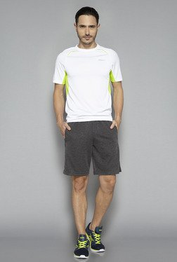 Westsport by Westside Anthra Textured Shorts