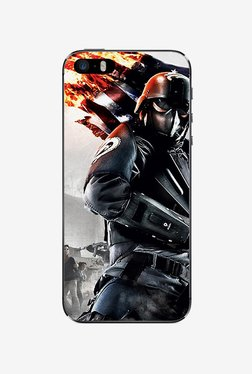Ziddi GAMING Hard Back Cover For IPhone 5S (Multi)