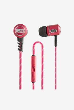 Altec Lansing MZX147 In Ear Stereo Earphone (Red)