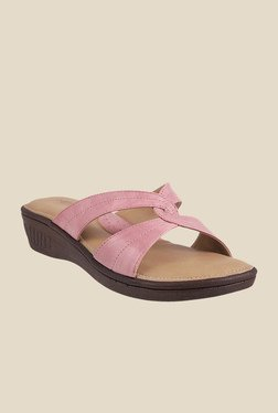 Metro Lilac Wedge Heeled Sandals