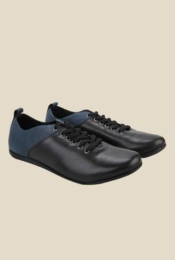 Knotty Derby Thomas Black & Navy Casual Shoes
