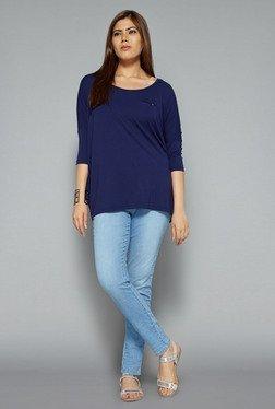 Gia By Westside Blue Denim Jeans