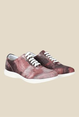Knotty Derby Susan Pink & White Sneakers