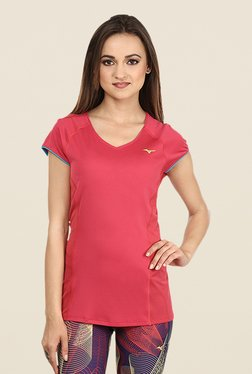 Mizuno Red Cooltouch Phenix T Shirt