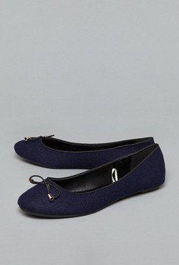 Head Over Heels By Westside Navy Ballerina Shoes