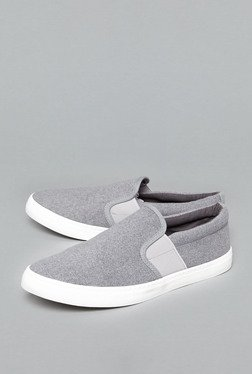 Westsport by Westside Grey Slip-On Shoes