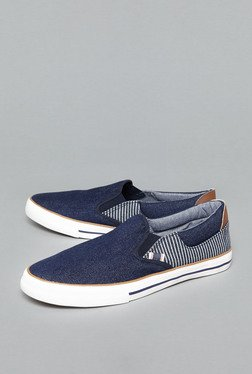 Nuon By Westside Navy Slip-On Shoes