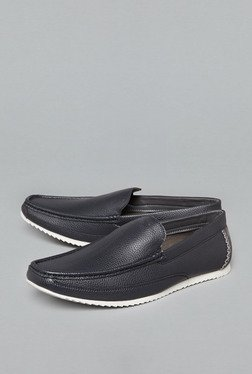 Azzurro by Westside Navy Loafer Shoes