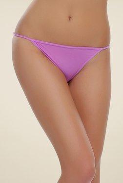 Clovia Lavender Low Waist Bikini Panty