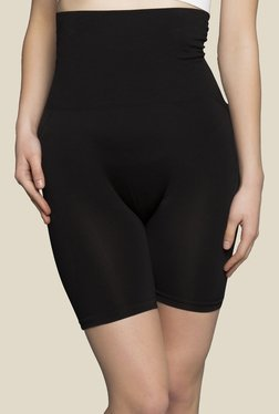 Clovia Black Solid Shapewear - Mp000000000379073