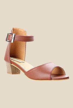 Cobbler's Thread Brown Ankle Strap Sandals