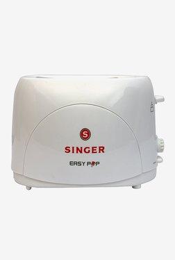 Singer Easy Pop 750 W Pop Up Toaster (White)