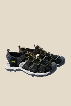 Wildcraft Terrafin Pace Black Fisherman Sandals