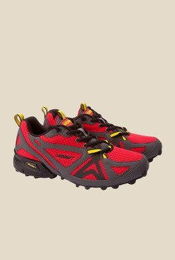 Wildcraft Craggrip Leap Red & Grey Casual Shoes