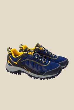 Wildcraft Craggrip Bolt Blue & Yellow Casual Shoes