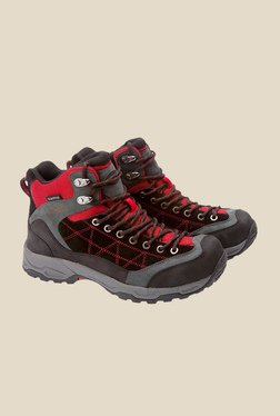 Wildcraft Red & Black Casual Boots