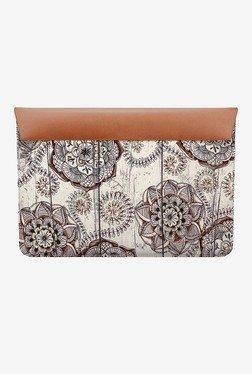 """DailyObjects Floral Doodles MacBook Air 13"""" Envelope Sleeve"""