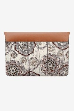 "DailyObjects Floral Doodles MacBook 12"" Envelope Sleeve"