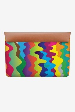 "DailyObjects Colour Waves MacBook 12"" Envelope Sleeve"