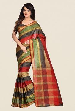 Shonaya Multicolor Banarasi Art Silk Dry Clean Saree