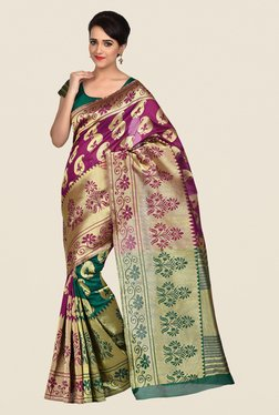 Shonaya Multicolor Banarasi Art Silk Saree